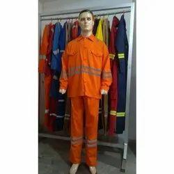 KNR Orange & Grey Contractions Uniform