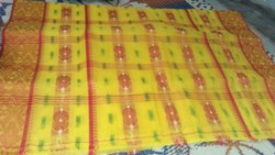 Casual Wear Tye and Dye Printed Banarasi Cotton Sarees, With Blouse, 6.3 m