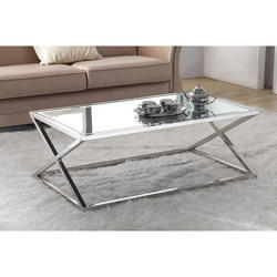 Office Stainless Steel Center Table