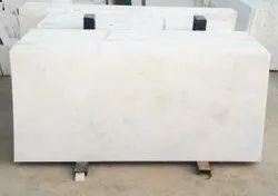 AMBAJI WHITE MARBLE, Slab, Thickness: 10-15 mm