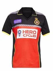 Printed IPL Jersey Promotional T Shirt, Size: M L XL