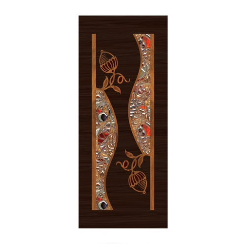 Decorative Laminated Door Paper Print