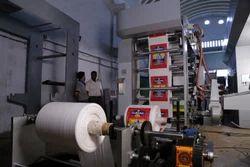 4 Color Woven Sack Flexo Printing Press