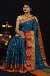 Designer Kora Silk Saree