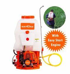 Neptune 2 Stroke Power Sprayer NF-708, For Spraying, Capacity: 20 liters