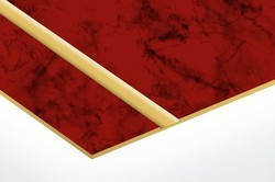 Opulux Scratch Proof Wine Red High Gloss Acrylic Panel
