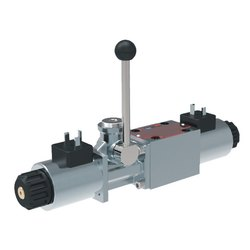 Auxiliary Lever Override for Solenoid Operated Valves