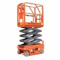 Orange Stainless Steel Electric Scissor Lift Rental, Application/usage: Industrial
