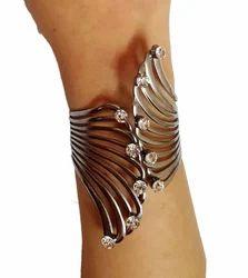 Indian Design Black Cuff Bracelet