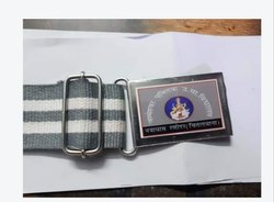 Grey White School Belt