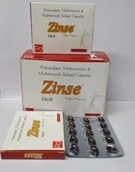 Antioxidants Multivitamin Multimineral and Zinc