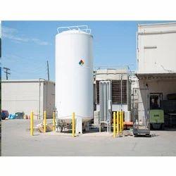 Nitrogen Gas Storage Tank