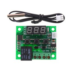 XH-W1209 12V Digital Temperature Controller Module W/ Display and NTC Waterproof Temperature Sensor