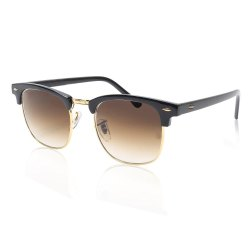 Black Aviator Fashion Sunglasses