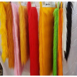 Plain Knitted Long Pile Fabric