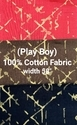 Cotton Shirting Fabric (PlayBoy)