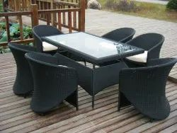 Outdoor Synthetic Wicker Chair