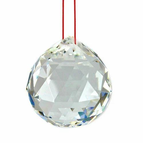 Transparent Hanging Crystal Ball