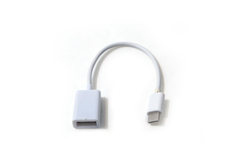 White Bluei Type-C OTG Cable, Packaging Type: Pouch
