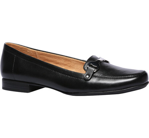 Naturalizer Black Loafers For Women