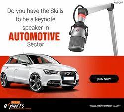 Keynote Speaker Auto Sector, Conference Speaker