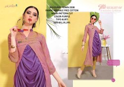 Rachna Wrinkle Free Cotton Pattern Cut Work Funky Town Catalog Kurti For Women 8