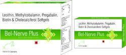 Lecithin, Methylcobalamin, Pregabalin, Biotin & Cholecalciferol Softgels