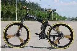 Ferrari 21 Shimano Gears Foldable Cycle