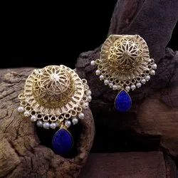 Gold Plated Long Earings