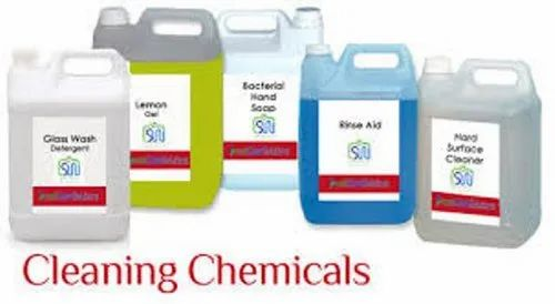 Liquid Housekeeping Chemical, Packaging Type: Can