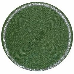 Green Bead Place Mats
