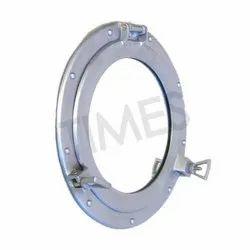 Silver Times Creation Nautical Brass Made Porthole Mirror Frame