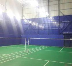 Steel / Stainless Steel Badminton Court Contractor