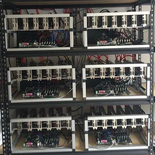 36 Gpu Gtx 1050ti Ethereum Mining Rig 576mh/s