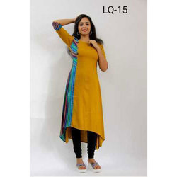 One Side Printed Kurti