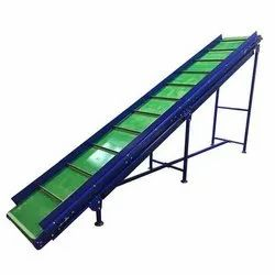 PVC INCLINED CONVEYOR BELT