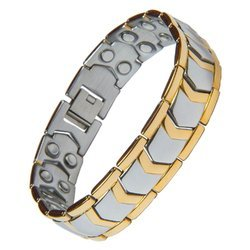 Jewellery Golden Magnetic Bracelet For Men