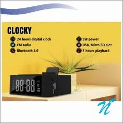 Mobile stand desktop clock