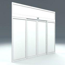 Stainless Steel Sectional Door, Size: Standard