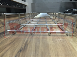 Stainless Steel 202 Wiremesh Cable Tray