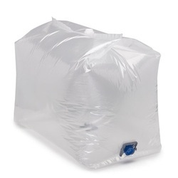 White LDPE Liner Bags, Capacity: 500 gm - 10 kg