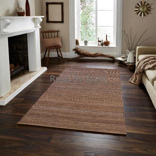 Hand Made Indian Natural Fiber Jute Rug Usage Indoor Outdoor Id