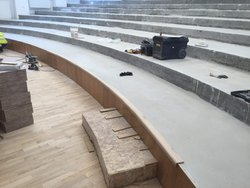 Auditorium Sitting Area Flooring