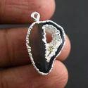 Sterling Silver Druzy Pendant