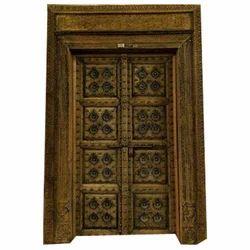 Satguru Wood Works Wooden Carved Wood Doors
