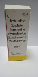 Terbutaline, Bromhexine, Guaiphenesin & Menthol