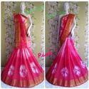 Cotton Silk Pink Saree
