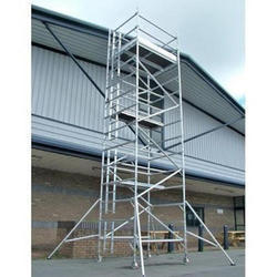Aluminium Aluminum Scaffolding Rental, for Industrial