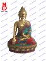 Lord Buddha Sitting Sakyamuni W/ Stone Work