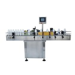 Horizontal Sticker Labeling Machine